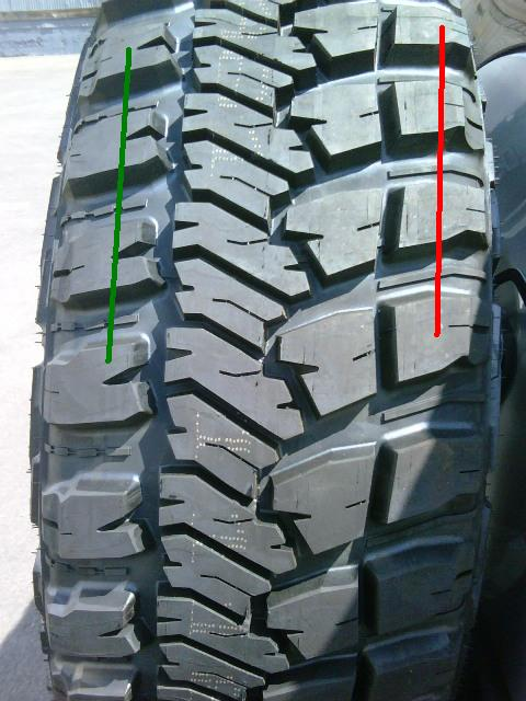 Goodyear Wrangler MT/R Kevlar 285/70R/17 on Stock/No Lift ...