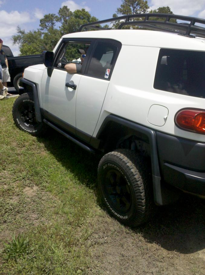 Tires To Go With New Toytec Lift Toyota Fj Cruiser Forum