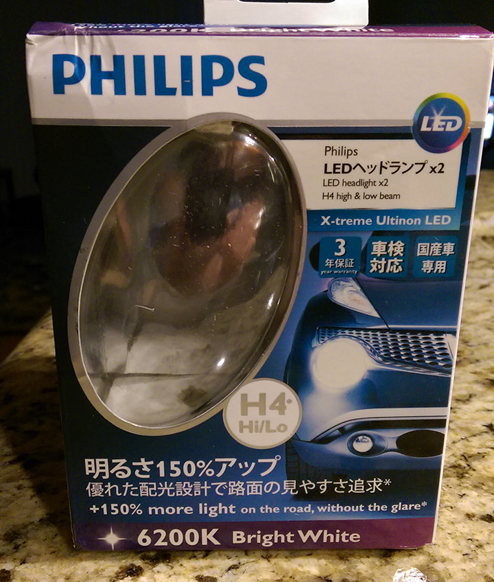 Installed KC pro-sport, Phillips Ultinon, and new LED bulbs-ultinon.jpg
