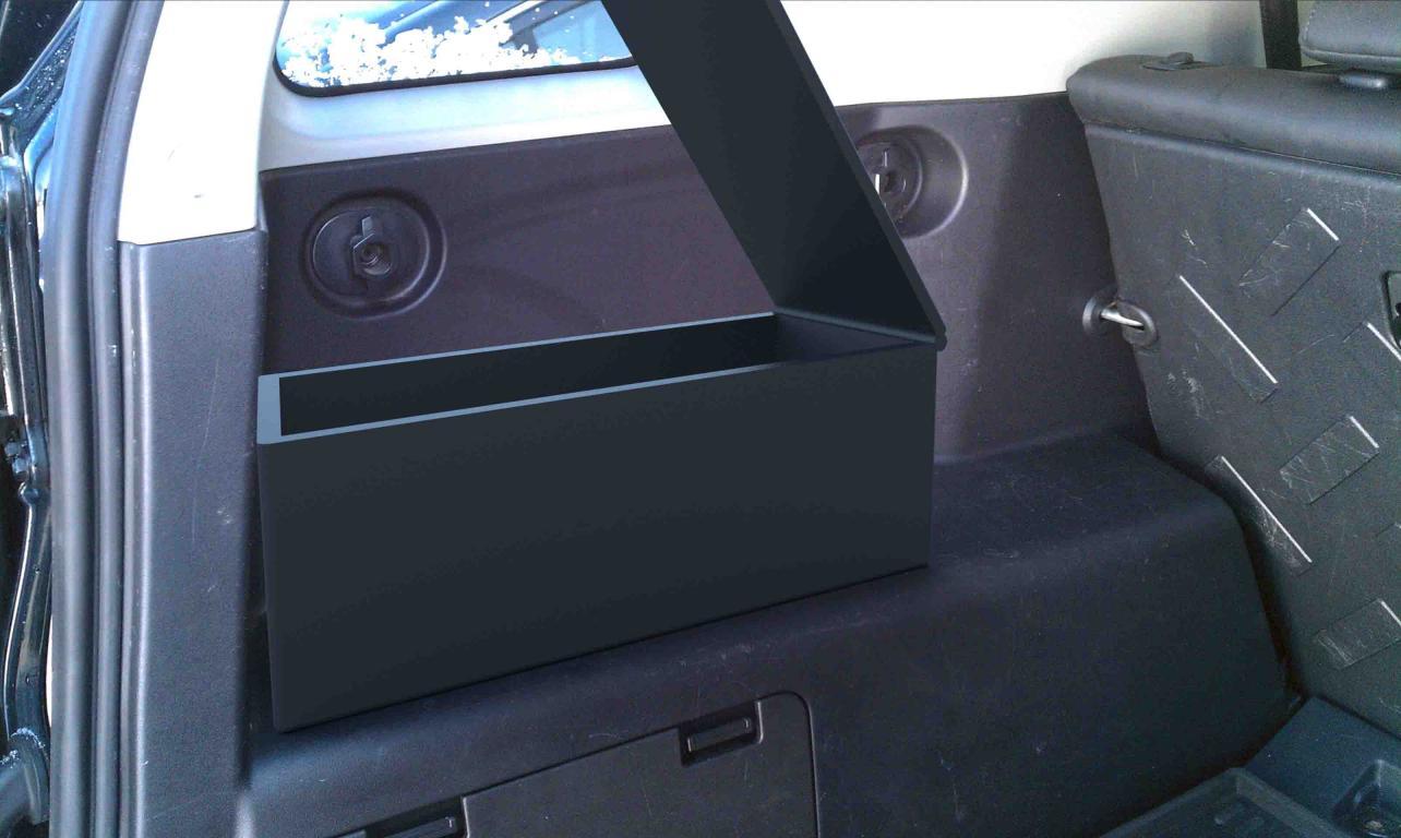 Rear Side Locking Cargo Box Toyota Fj Cruiser Forum