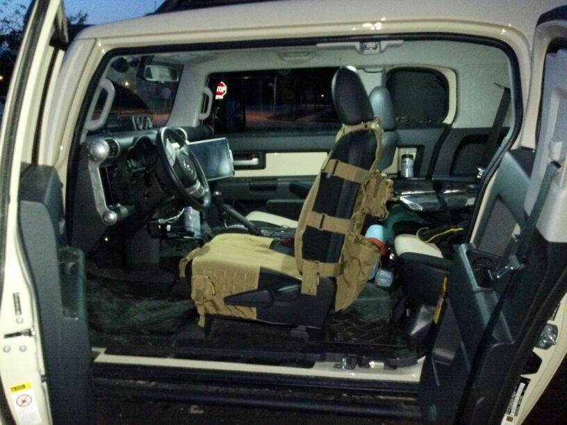 Molle Storage Seat Covers Page 4 Toyota Fj Cruiser Forum