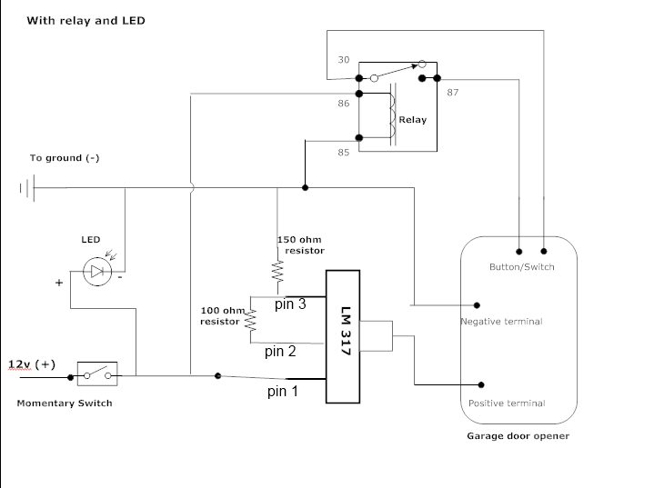 diy switch wiring diagrams wiring diagramdiy switch wiring diagrams get free image about wiring diagramgarage door opener remote control circuit diagram