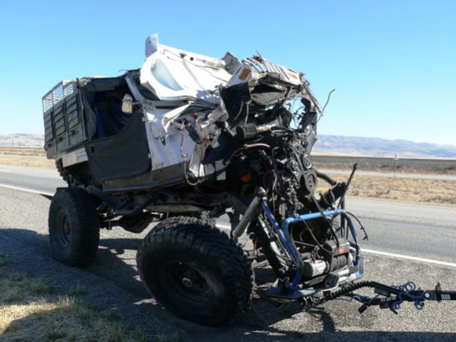 Accident Caused By Hcg And Triple Towing Toyota Fj