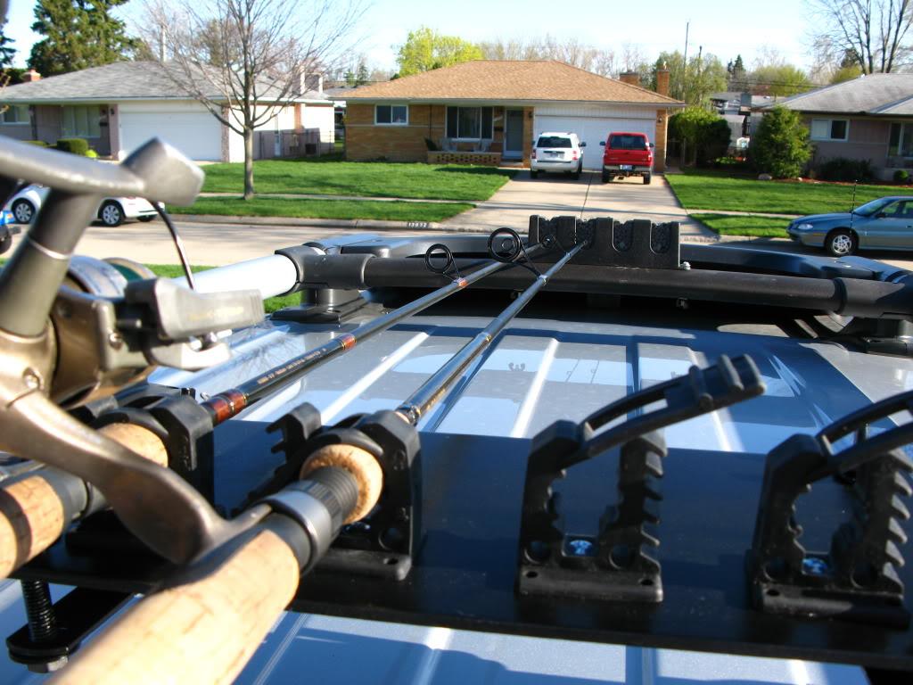 Fishing Poles On Roof Rack Toyota Fj Cruiser Forum