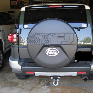 Body Armor Tail Light Guards