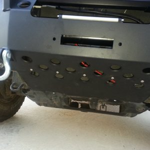 Warrior Bumper with Smittybilt XRC8 Winch.