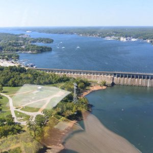Bagnell Dam and Osage River