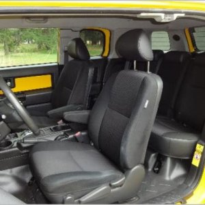 2007 Toyota FJ Cruiser Test Drive interior