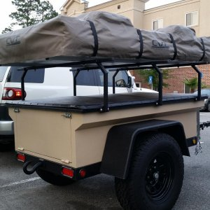Tan CVT RTT travel cover