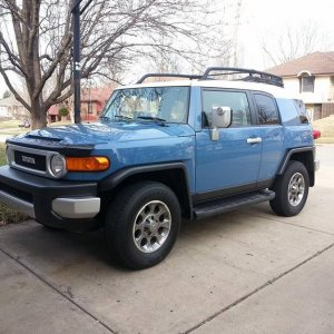 Feb 2015 - I finally bought my FJ.  I really wanted a yellow one, but color this will work just fine.  Looking to do some minor modifications on her s