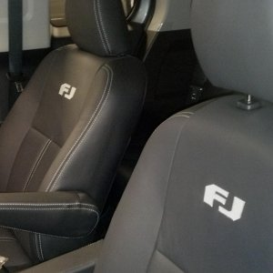 Custom Leather Heated Seats!