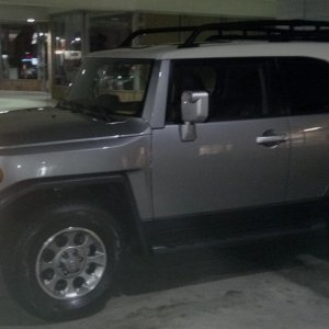 "The day I traded in my '08 Brick FJ for the 2012 ""Fresco"" Silver!!"