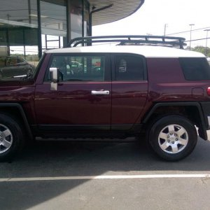 The day I purchased my 2007 Fj Cruiser.