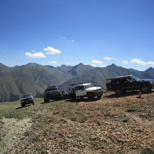 At the top of a dead end trail near Placer and Picayune Gulch. We were at 12,700 ft here!