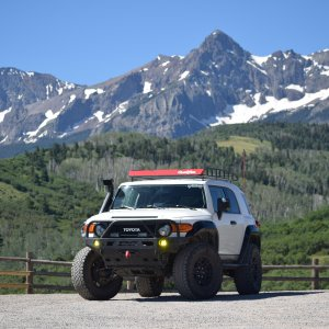 Icy the Trail Teams Special Edition FJ Cruiser